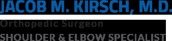 Jacob M. Kirsch, M.D. logo